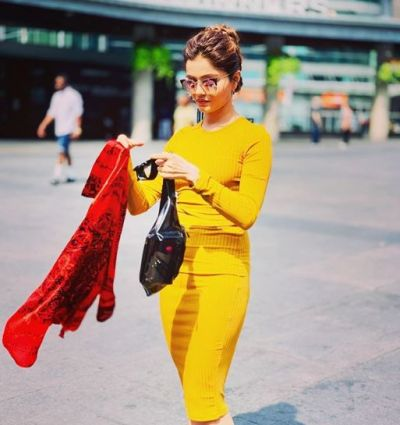 In her new photos, Rubina Dilaik seemed to injure her fans!