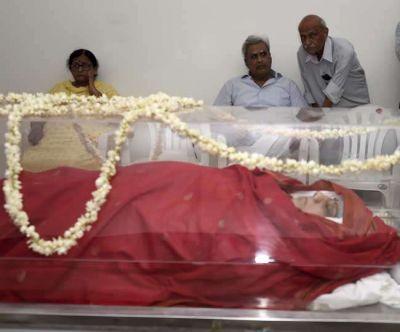 Television artists mourn death of former BJP leader Sushma Swaraj