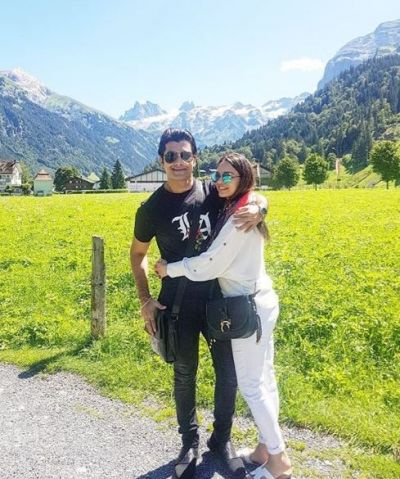 Sharad Malhotra, who arrived in Switzerland to celebrate wife's birthday, shared photos