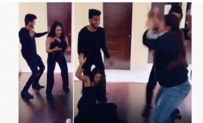 नाचते-नाचते गिर पड़ी रियलिटी शो की यह जज, वायरल हो रहा वीडियो