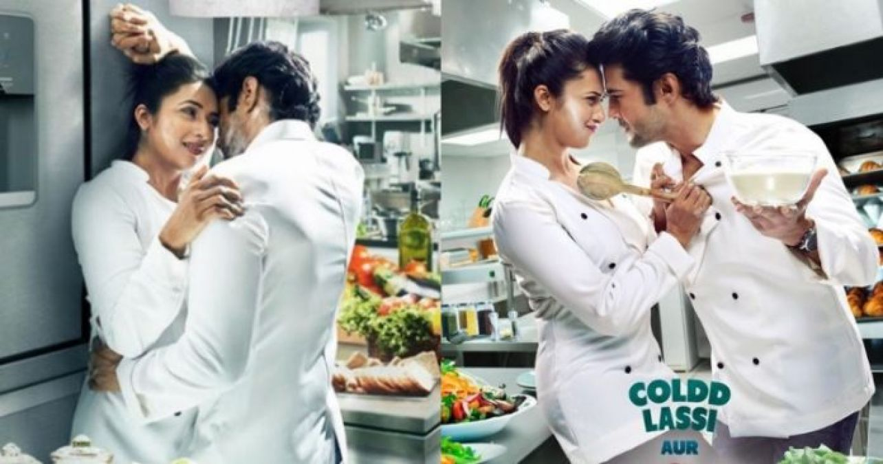 Trailer of Divyanka-Rajeev's cold lassi chicken masala out, check it out here