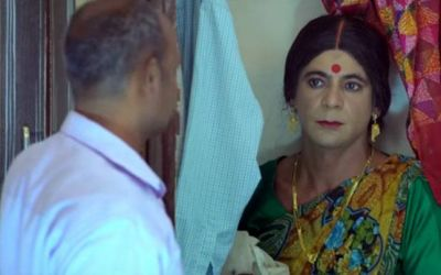Finally, Sunil Grover returned as Rinku Bhabhi, see viral video!