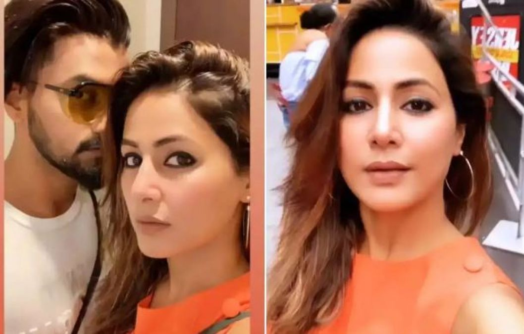 Hina Khan enjoying NYC vacay with Rocky Jaiswal and giving major couple