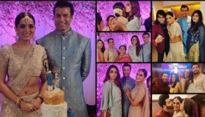 Kundali Bhagya's Ruhi Chaturvedi gets engaged to Shivendraa Om Saainiyol