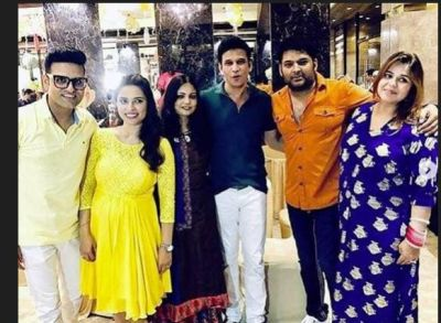 Along with Ginni, Kapil looked stylish in Baby Shower!