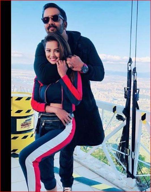 'खतरों के खिलाड़ी' में अदा खान से हुई बड़ी गलती, मांगी रोहित शेट्टी से माफ़ी!