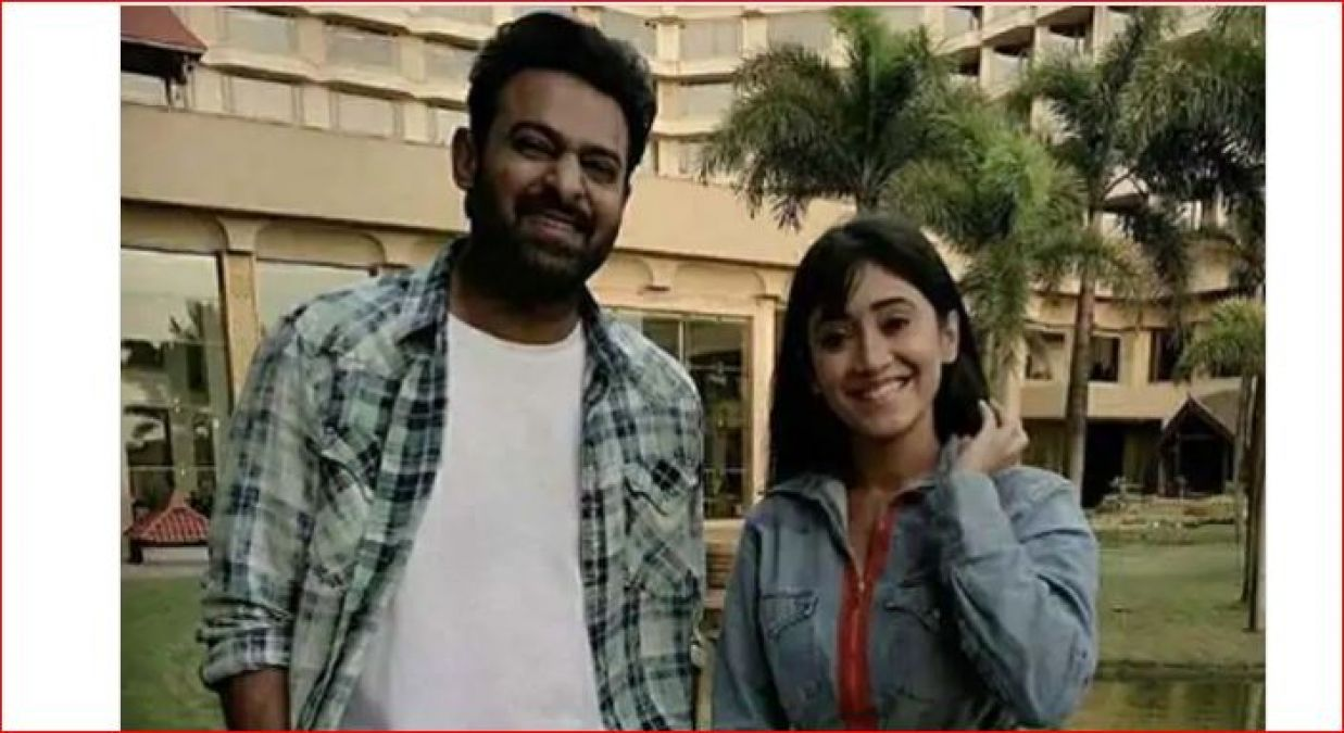 After Seeing South Superstar Prabhas, Shivangi Joshi did this thing!
