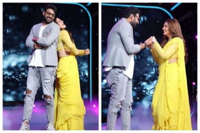 Along with Raveena, Prabhas danced on 'Tip Tip Barsa Paani', See Viral Video!