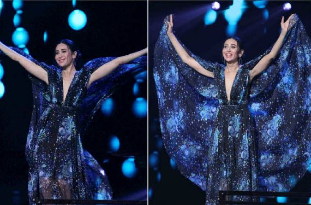On the stage of DID, Karisma was dancing with the host and then all of a sudden...!