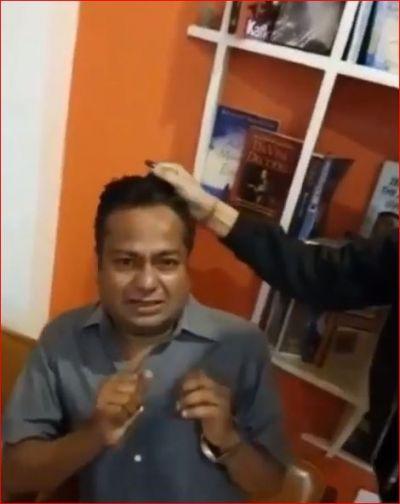 Rakhi's sister-in-law beats Deepak Kalal, video goes viral!