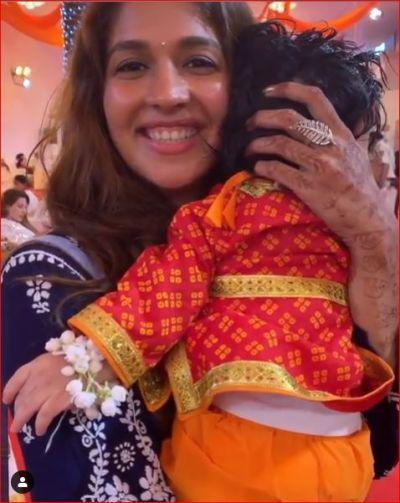 Ekta Kapoor shares video with her two Krishna on Janmashtami