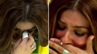 Raveena Tandon cries on the set of  'Nach Baliye 9' for this reason