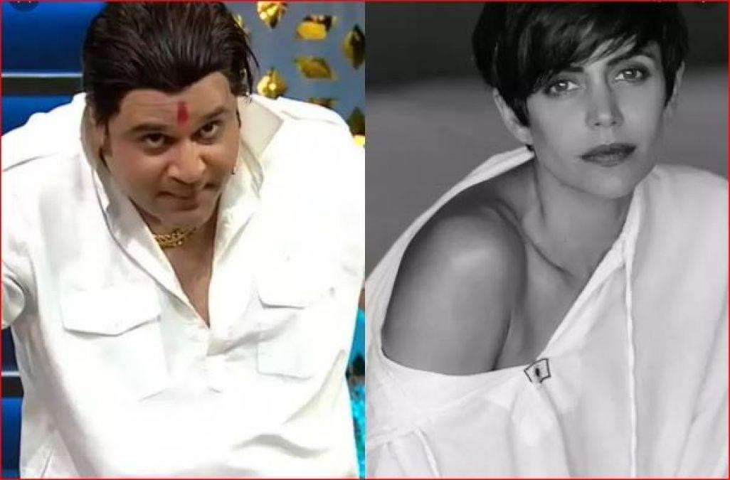 On Kapil's show, Sapna mocked at Mandira Bedi, saying,