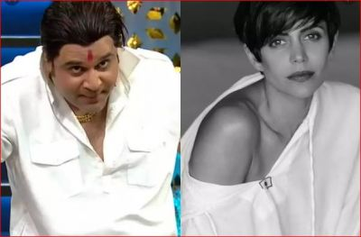 On Kapil's show, Sapna mocked at Mandira Bedi, saying,