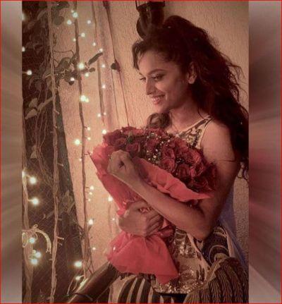 Ankita Lokhande looked very happy in the new photos!