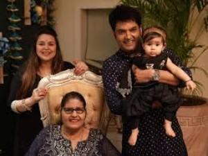 Famous comedian Kapil fails to make his daughter laugh