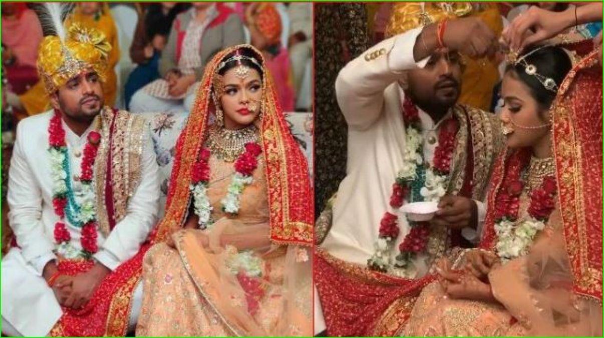 अपनी शादी में बहुत खूबसूरत नजर आईं सोन्या अयोध्या, सामने आईं सभी तस्वीरें