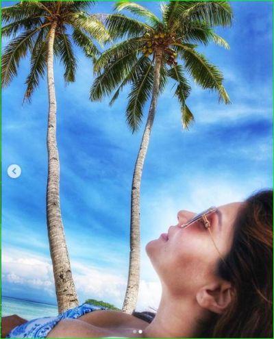 Rubina Dilaik shares her bikini photos during vacation