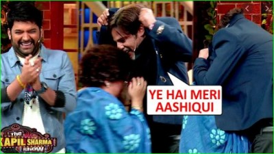Video: Rahul Roy performs Jakcet scene with Bharti Singh from his film Aashiqui