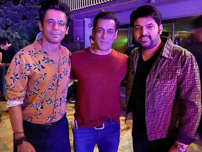 Salman Khan made reconciliation between Sunil-Kapil, will return to show