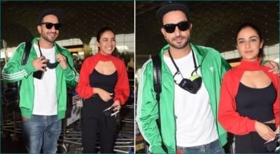 Jasmin Bhasin left for Jammu with Aly Goni