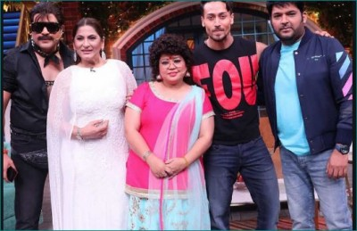 Team Baaghi 3 reaches Kapil's show for promotion