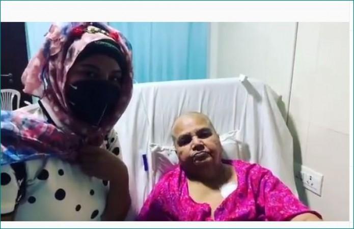 कैंसर से जंग लड़ रही राखी की माँ ने किया सलमान-सोहेल का धन्यवाद