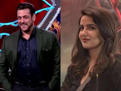 BB14: Jasmin Bhasin glares in front of Salman Khan, apologises to Rakhi Sawant