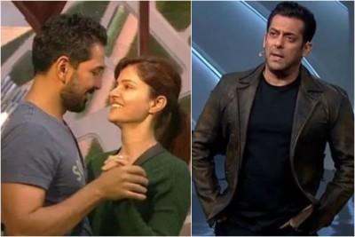 BB14: Salman Khan lashes out at Rubina Dilaik and Abhinav Shukla