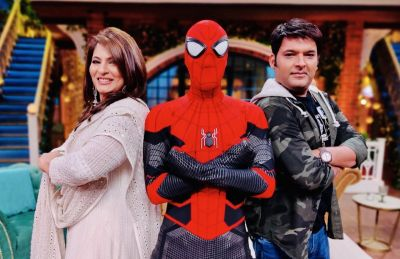 Spiderman is to appear in The Kapil Sharma Show