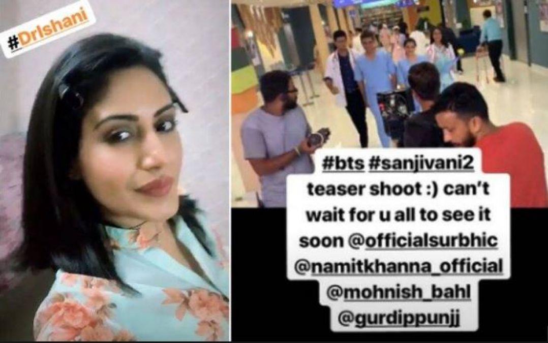 Sanjivani 2 : Surabhi Chandana seen as Dr. Isani,check out pic here