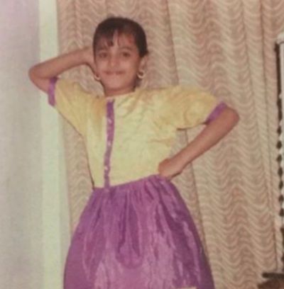'Nagin' Fame actress looked like this in her childhood!