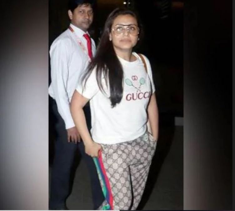 Rani Mukherjee completed her look in lakhs but trollers trolled her fiercely as 'Bad, ugly...!'