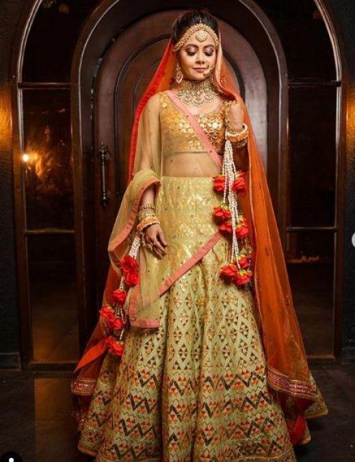 Devoleena Bhattacharjee aka Gopi Bahu looks breathtaking in her bridal look