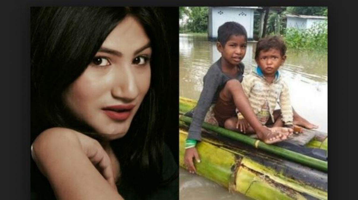 After Bollywood Star This TV Actress Helped Assam Flood Victims