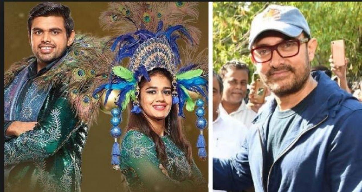 नच बलिये 9 की इस जोड़ी के स्पोर्ट में उतरे आमिर खान, कहा- 'धोबी पछाड़ मार दीजिएगा...'