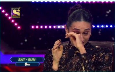 Karisma Kapoor weeps on 'Super Dancer Chapter 4' set, video goes viral