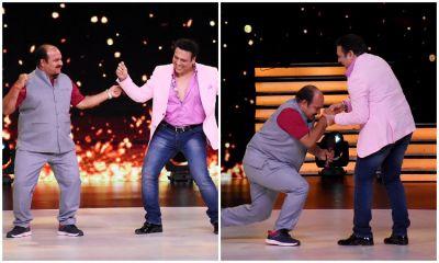 'डांसिंग अंकल' ने रखा बॉलीवुड दुनिया में कदम