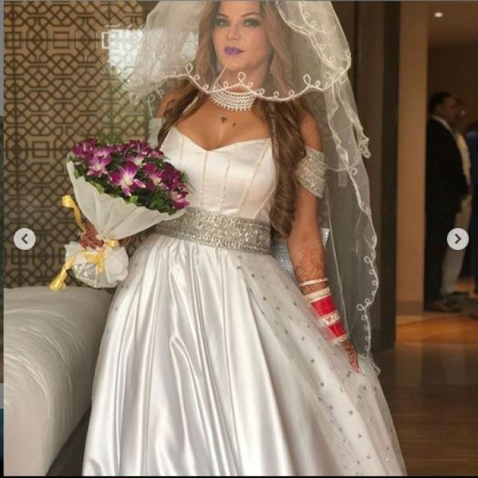 After secretly marrying, Rakhi Sawant shared a photo of her saying, 'My marriage...'