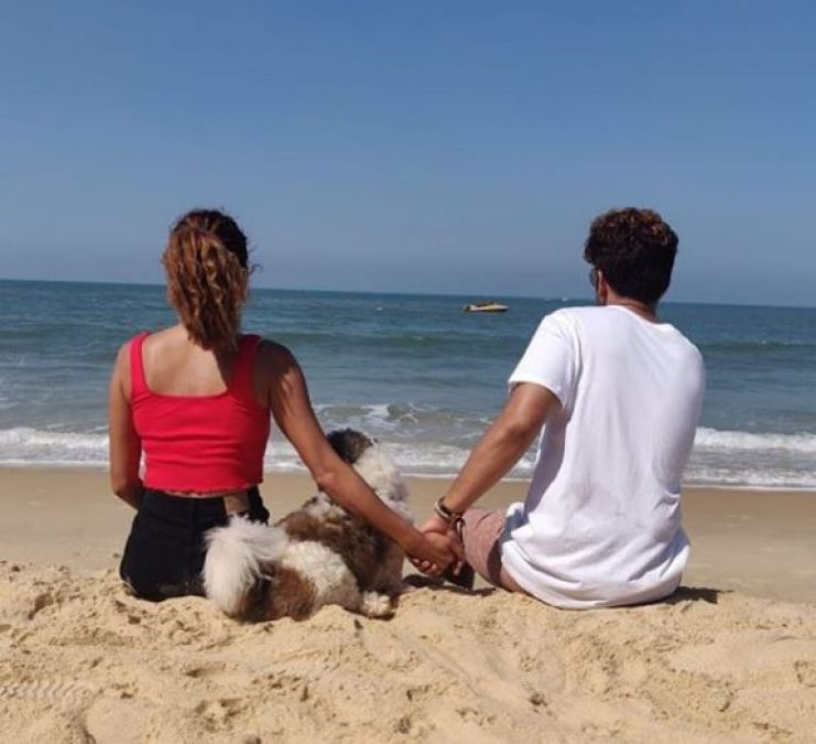 This famous TV couple is secretly enjoying vacations!