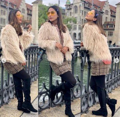 Hina Khan enjoys with boyfriend in Paris