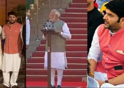 Kapil followed the Modi dressing in the swearing-in ceremony of PM Modi!