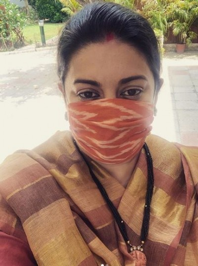 Smriti Irani wished Tusshar Kapoor's son on his birthday