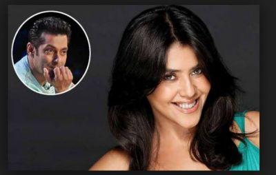 OMG! Ekta Kapoor Didn't marry because of Salman Khan!