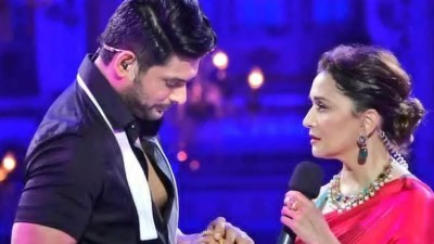 Shahnaz Gill reacts after seeing Madhuri Dixit with Siddharth Shukla