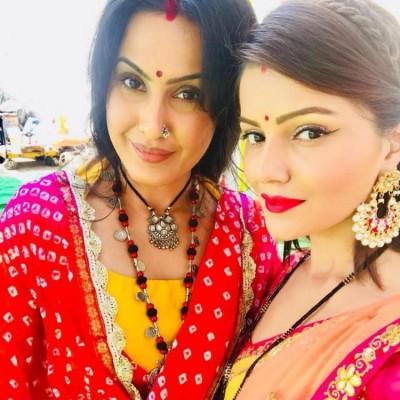 Rubina Dilaik, Kamya Punjabi groove on THIS popular Anil Kapoor song on sets of Shakti