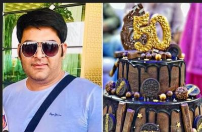 Kapil's show completes 50 episodes, celebrated by cake cutting!