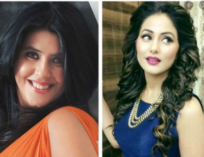 This TV actress came in support of Ekta Kapoor