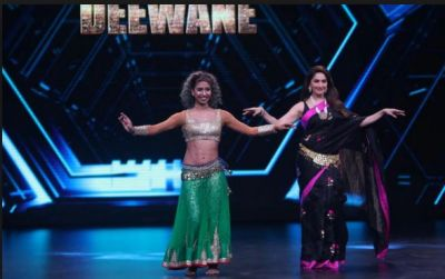 Madhuri Dixit performed Belly dance with contestants; fans get amazed!