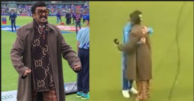 Video: Ranveer Singh hugged Virat after India's win
